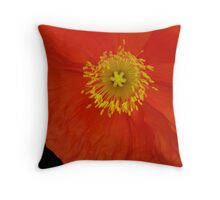 Hello Poppy  Throw Pillow