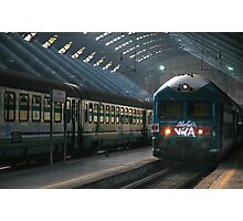 Milano Train Station, Early Morning Photographic Print
