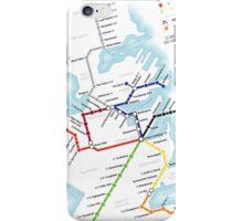 Game of Thrones - Metroros System Map iPhone Case/Skin
