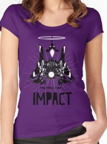Evangelion Impact Women's Fitted Scoop T-Shirt