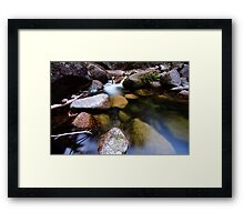 Translucent Reflections Framed Print