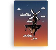 Floating Windmill Canvas Print