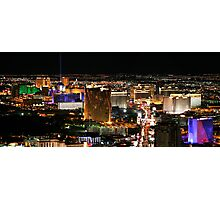 Las Vegas as seen from The Stratosphere Photographic Print