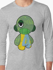 GO GREEN MUNNY Long Sleeve T-Shirt