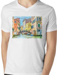 Venice Mens V-Neck T-Shirt