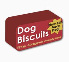 Dog biscuits by Gavin King