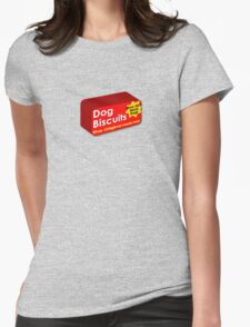 Dog biscuits Womens Fitted T-Shirt