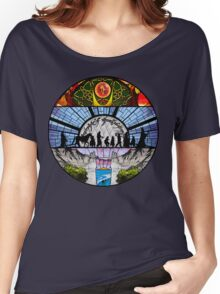 Lord of the Rings - Stained Glass Women's Relaxed Fit T-Shirt