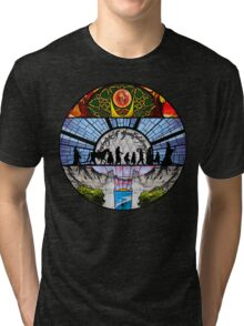Lord of the Rings - Stained Glass Tri-blend T-Shirt