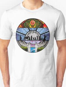 Lord of the Rings - Stained Glass Unisex T-Shirt