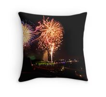 Burley Griffin Party Poppers Throw Pillow