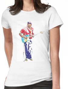 Windy Music Womens Fitted T-Shirt