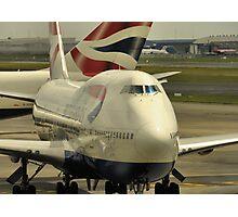 British Airways Photographic Print