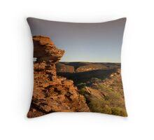 Nature's Window Panorama Throw Pillow