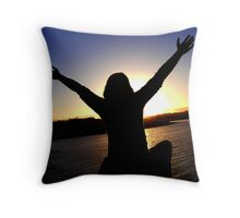 Free From Everything Throw Pillow