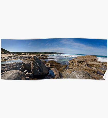 Wyliabrup Rocks Panorama Poster