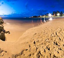 Cottesloe Beach @ Twilight by Luke Martin
