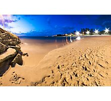 Cottesloe Beach @ Twilight Photographic Print