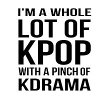 A LOT OF KPOP - WHITE by Kpop Seoul Shop