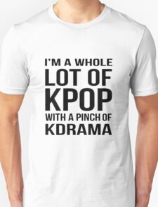 A LOT OF KPOP - WHITE Unisex T-Shirt