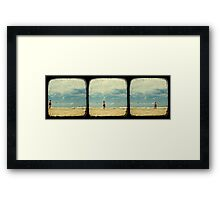 The Awkward Walk - TTV Framed Print