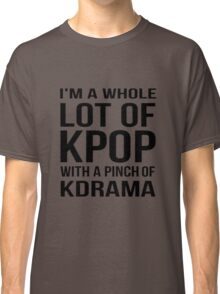 A LOT OF KPOP - RED Classic T-Shirt