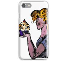 You eat cakes - Live, Love, Eat cakes iPhone Case/Skin