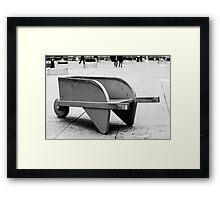 Monopoly Wheelbarrow Framed Print