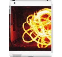 Fire Hoop iPad Case/Skin