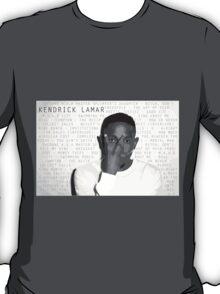 Kendrick Lamar Discography T-Shirt