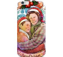 Christmas Brothers iPhone Case/Skin
