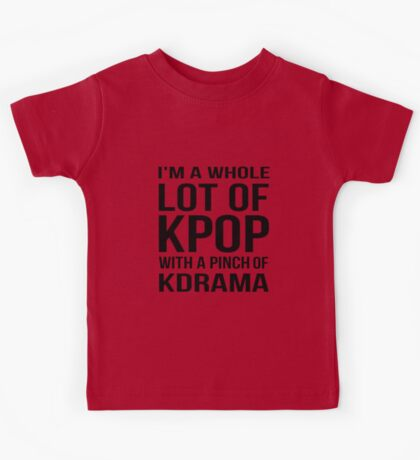 A LOT OF KPOP - PINK Kids Tee
