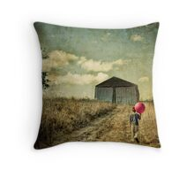 He Walks In The Dream Throw Pillow