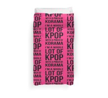 A LOT OF KPOP - PINK Duvet Cover