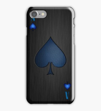 Galaxy Ace of Spades iPhone Case/Skin