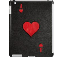 Ace of Hearts Leather iPad Case/Skin