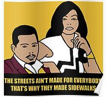 The Streets Ain't For Everyone... Poster