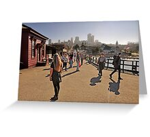 Hyde Street Pier Greeting Card
