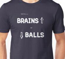 brains and balls light Unisex T-Shirt