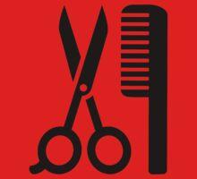 Comb scissors One Piece - Short Sleeve