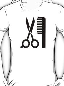 Comb scissors T-Shirt