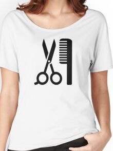 Comb scissors Women's Relaxed Fit T-Shirt
