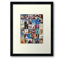 Vogue-ing  Framed Print