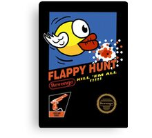 Flappy Hunt Canvas Print