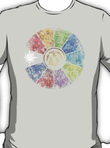 MTG Faded Guild Wheel T-Shirt