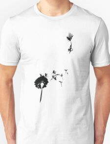 if mary poppins had a giant dandilion Unisex T-Shirt