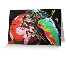 Oh yeah Beetle mania.... Greeting Card