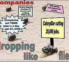 CUTTING JOBS (US STATS) by Ann Morgan