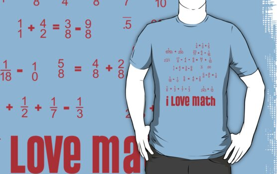i love math by peteroxcliffe