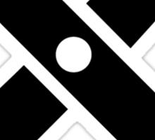 Scissors logo Sticker